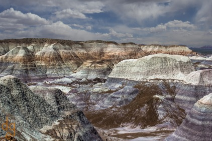 Blue Mesa - Painted Desert