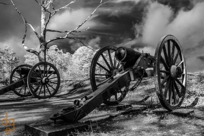 Kennesaw Battlefield Cannons